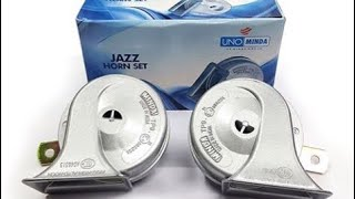 how to install minda jazz horn on bike/ car | honda livo | in hindi
