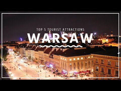 WARSAW Travel Guide, Top 5 Tourist Attractions that you must visit !!!