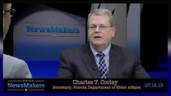 Florida NewsMakers: Secretary, Florida Dept. of Elder Affairs Charles T. Corley