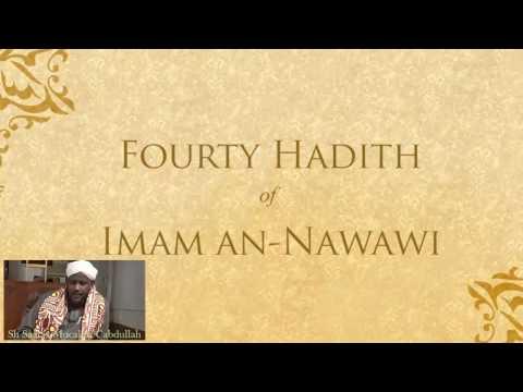 Al Arbiciin Imam An-Nawawi Part 1 - Sh Saalax Mucalim