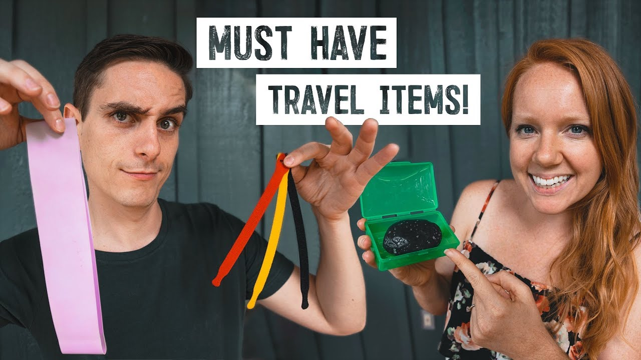 Our Top Travel Items & Gadgets After 4 YEARS OF TRAVEL! – Travel Packing Guide