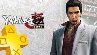 YAKUZA KIWAMI PS Plus Free Game From November 2018 - December 2018