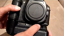 Canon EOS 20D Body with BG-E2 Battery Grip & Two Batteries