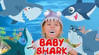 Baby Shark | Nursery Rhymes with Max & Sofi 🐟