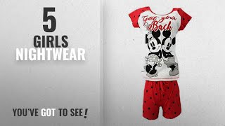 Top 10 Girls Nightwear [2018]: Character Clothing Ladies Girls Novelty Shortie Shorts Pjs Ariel