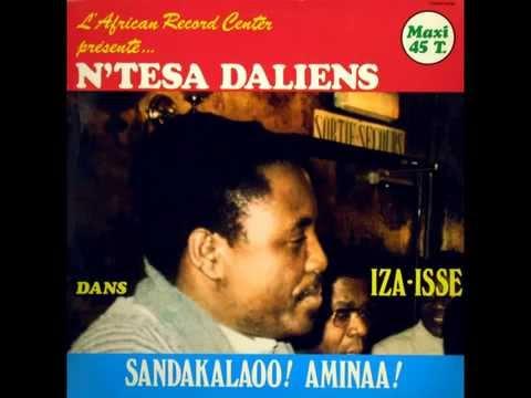 Iza-Isse / La Dernière Lettre - Ntesa Dalienst 1985