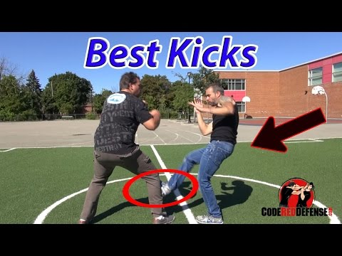 Best Kicks to Use for Self Defense