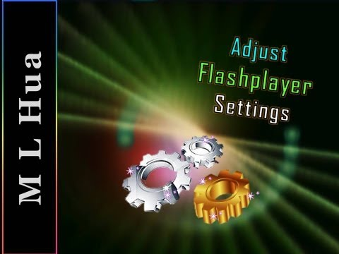 How To Adjust FLASH PLAYER SETTINGS - MSDV88 31-12-2012