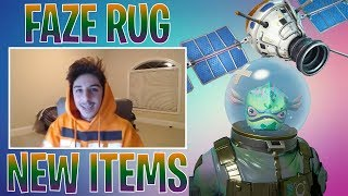 FAZE RUG STREAMS FORTNITE! NEW FISH SKIN & NEW SPACE GLIDER! (Fortnite Best Moments #16)
