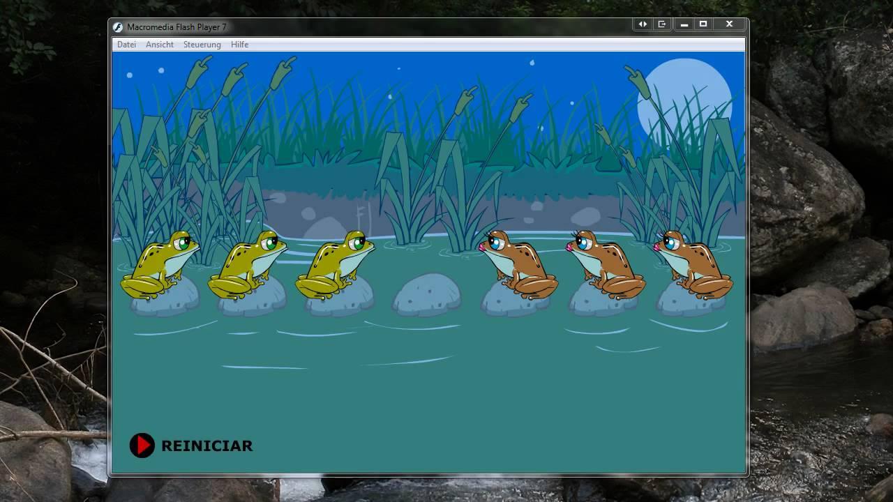 Frosch Springen Spiel