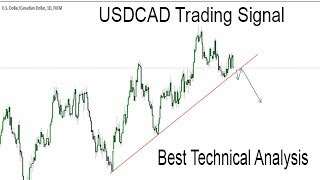USDCAD Technical Analysis in Urdu Hindi