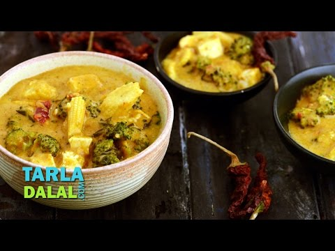 Thai Red Curry by Tarla Dalal