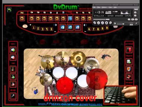 Metallica - Enter Sandman (DvDrum Cover)