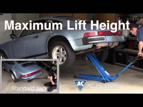 Car DIY Extra - AC Hydraulic Jack vs. Standard Jacks Comparison