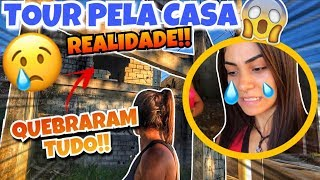 TOUR PELA MINHA CASA... (A REALIDADE!!!)