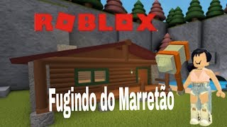 ROBLOX - FUGINDO DO MARRETÃO (flee the facility)