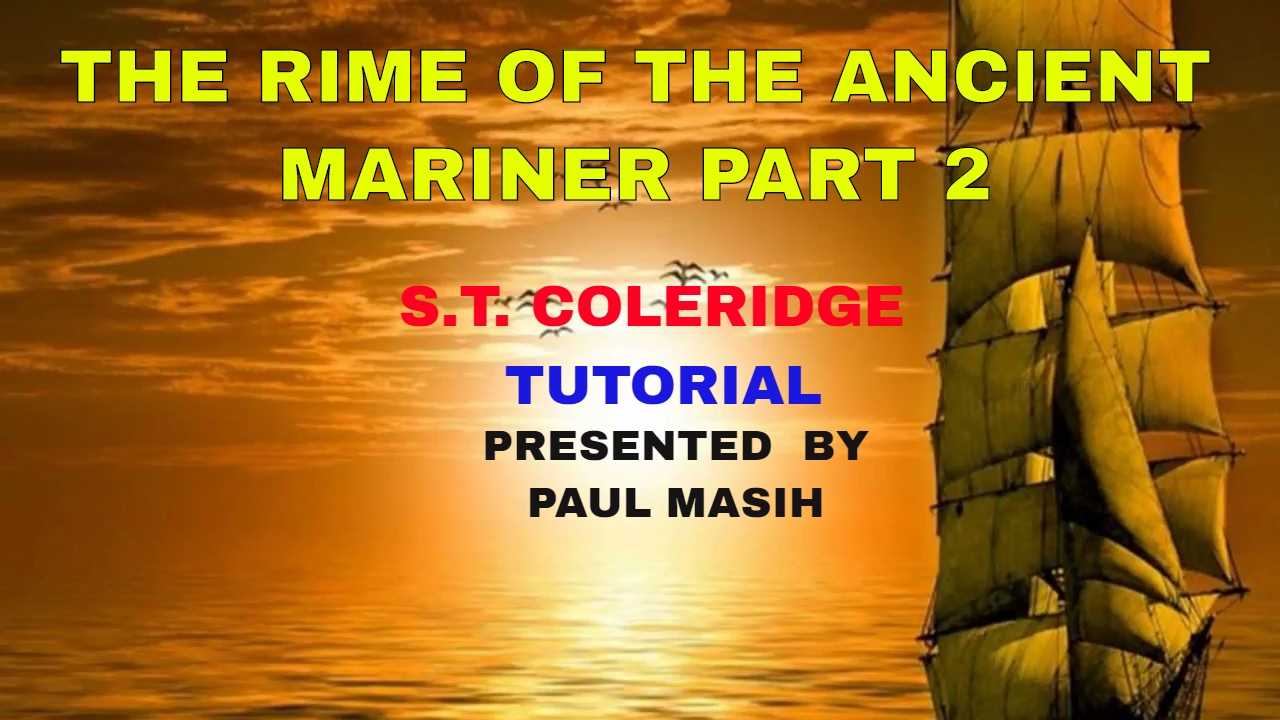 """a literary analysis of the rime of the ancient mariner The new historicism and """"the rime of the ancient mariner"""" january 1999 the title of brook thomas's the new historicism and other old-fashioned topics (1991) is telling."""