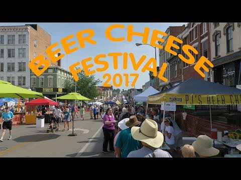 Beer Cheese Festival 2017 – Winchester, KY