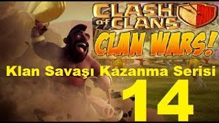 Clash Of Clans:Savaş Kazanma Serisi 14... Clan Wars Victory 14