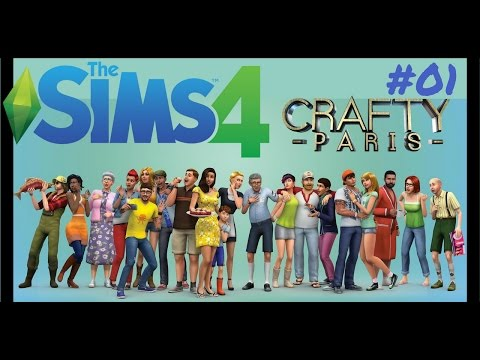 SIMS 4 Gameplay | Live Stream #01 | Crafty Paris |  🔹🔹🔹