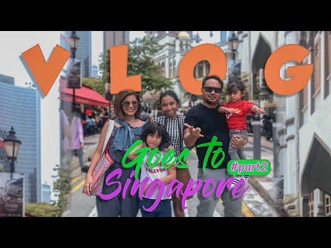 VLOG #13 | Puas Buaaangeet muter-muter Singapore! #part2