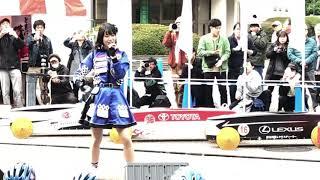 ソープボックスダービー2018 でのライブ。 AKB48チーム8神奈川県代表'小田えりな'による「恋するフォーチュンクッキー」