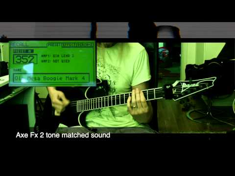 Axe Fx 2 Tone Matching - Ola style