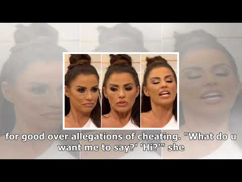 worst interview ever! katie price struggles to speak on gmb following dental work but still manages