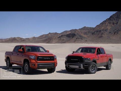 2015 4x4 Challenge: Ram Rebel Vs. Toyota Tundra TRD Pro