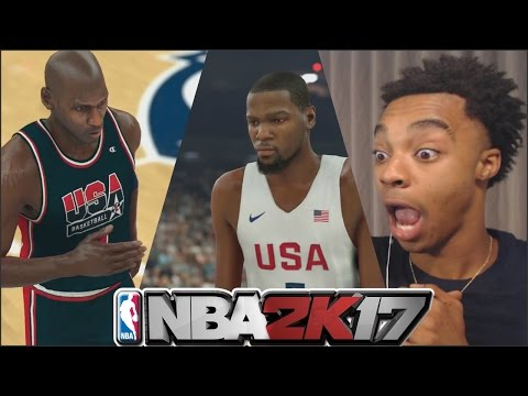 Flight Reacts To OFFICIAL NBA 2K17 Dream Team vs. 2016 Team Usa Gameplay Trailer!