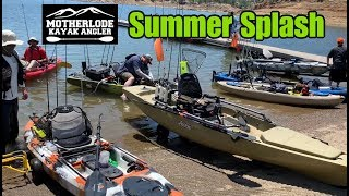 Mother Load Kayak Anglers Summer Splash [Lake McClure]