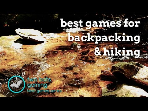 Two Bats Gaming: Best Of Backpacking & Hiking Board Games