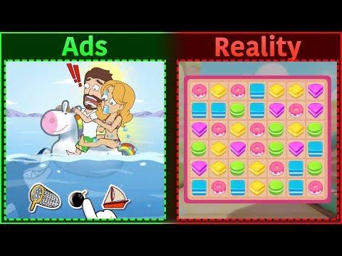 Mobile Game Ads Vs. Reality 9