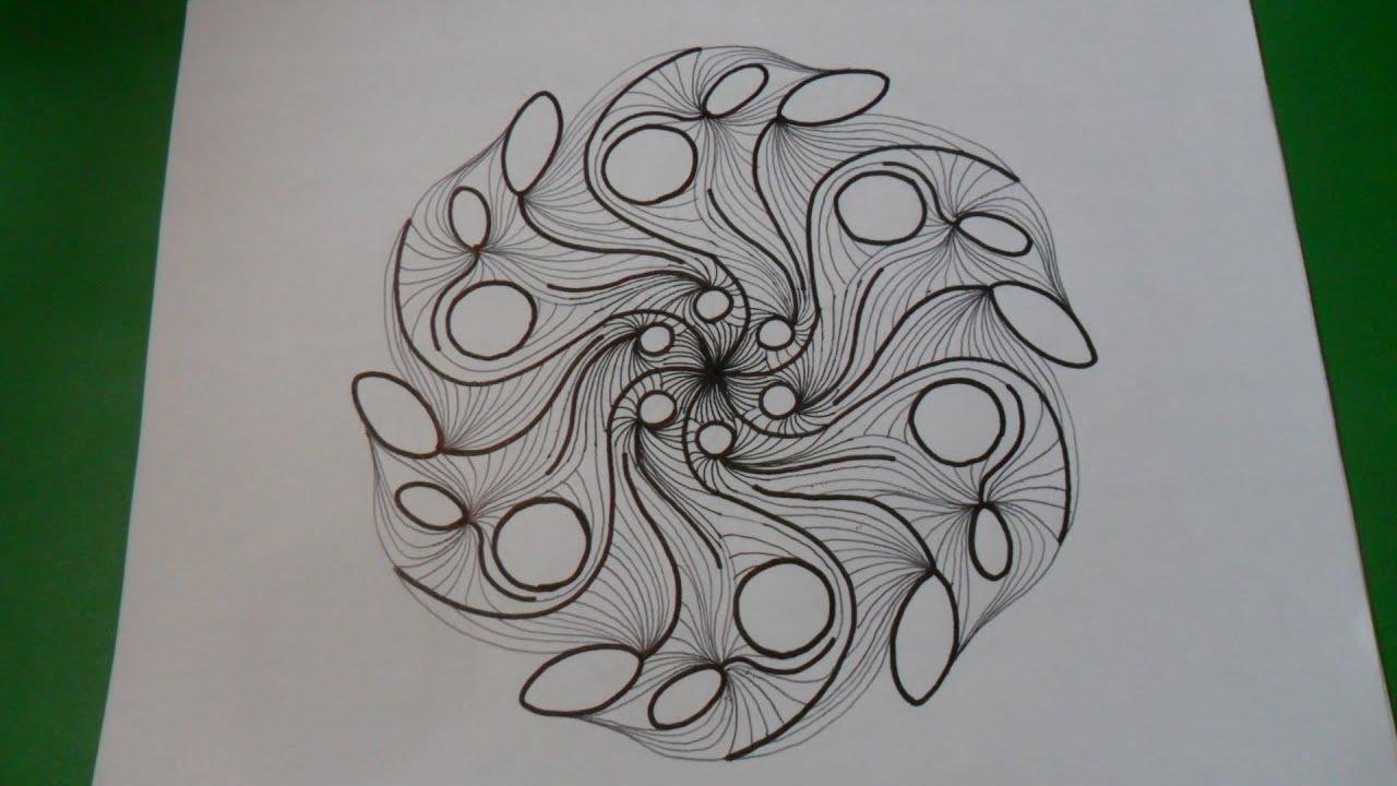 COMPLEMENTO DE LECCION N 2 1  3 Dibujo de un mandala mediante