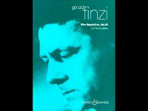 Finzi - Five Bagatelles - Clarinet - Piano - 4  - Forlana- Allegretto grazioso
