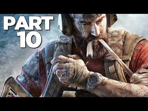 GHOST RECON BREAKPOINT Walkthrough Gameplay Part 10 - AUROA (FULL GAME)
