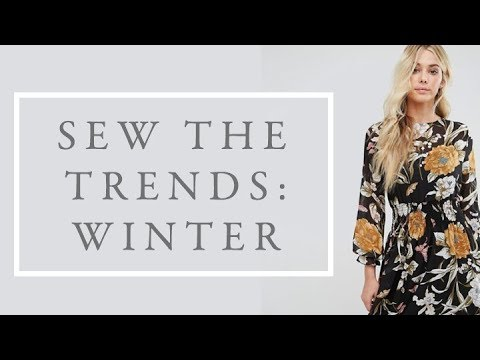 Sew the Trends || Fashion sewing || The Fold Line