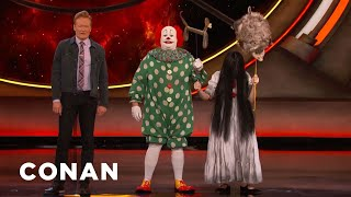 Butterscotch The Clown Doesn't Condone Pennywise Cosplay - CONAN on TBS