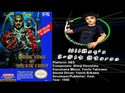 Bandit Kings of Ancient China (NES) Soundtrack - 8BitStereo