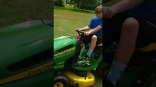 Big green tractor music video