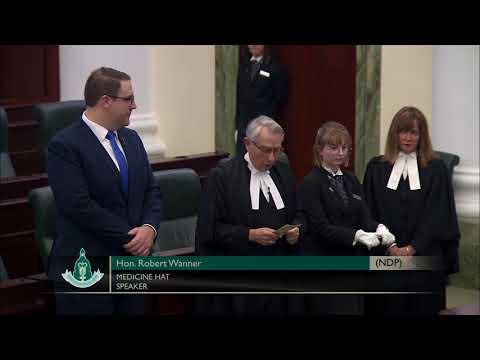 Swearing-In Ceremony - Hon. Jason Kenney, PC - Calgary-Lougheed (UCP)