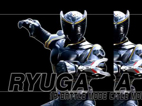 gpf kamen rider ryuki ps1 ryuga the dark dragon youtube