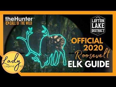 OFFICIAL 2020 Roosevelt Elk Guide - Hunter: Call Of The Wild / Diamond Elk