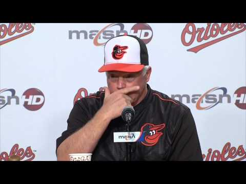 Buck Showalter and Darren O'Day talk about the changes in the rotation