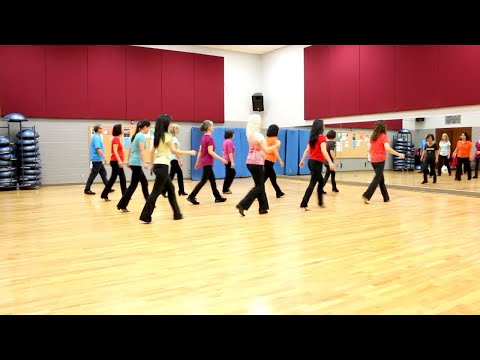 Fall On Me - Line Dance (Dance & Teach in English & 中文)