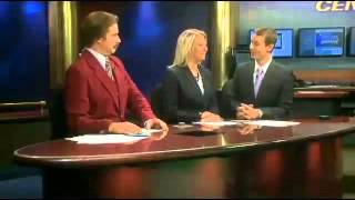 Ron Burgundy Anchors in Bismarck, North Dakota! [SHORT VERSION]