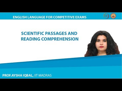 Scientific Passages And Reading Comprehension