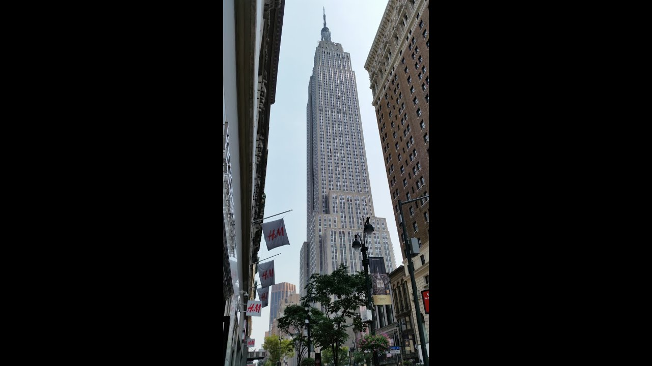 Empire State Building Elevator Ride To 102nd Floor