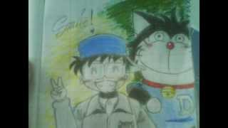 Mon Drawing Club : Doraemon anniversary 100 pictures !!