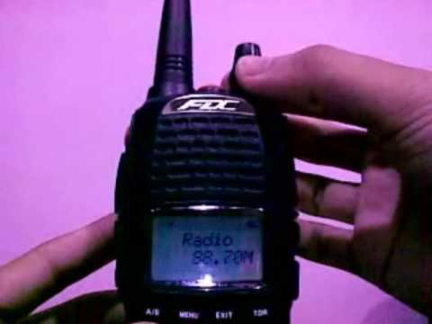 FDC FD880 Function Review - dual band handy radio / walkie talkie (Malay Language)
